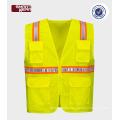 hi vis workwear reflective safety vest for road