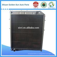 Todo el radiador auto de aluminio para sinotruck WG9625531385