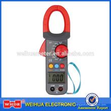 Pince ampèremétrique numérique WH821 avec test courant continu / courant continu