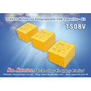 Suntan Offers X2 Capacitor with Highest Capacitance Value Up to 10uF