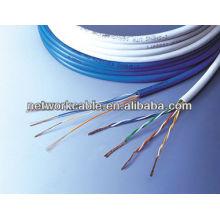 UTP Cat5e cable de interior, 1000 pies cada caja de tiro fácil