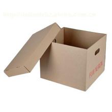 Impression de boîte de rangement de boîte d'emballage de boîte en carton de haute qualité