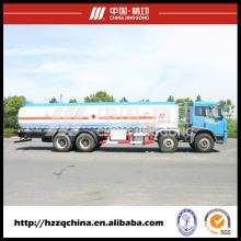 Camión tanque de combustible 24500L SUS 257HP para entrega de aceite diesel ligero 8X4 (HZZ5312GJY) en venta