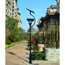 Lâmpada de rua do diodo emissor de luz do jardim quadrado integrado da energia solar