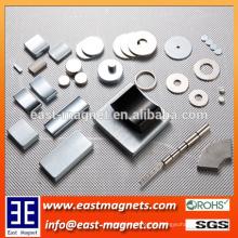 Permanent Neodym-Magnete (N35 - N52,33M - 50M, 30H-48H, 30SH - 45SH, 28UH - 40UH, 28EH-38EH), (Nickel, Znic, Splitter, Gold und so weiter)