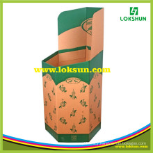 Customized Dump Bin Cardboard Advertising Display for Drinks