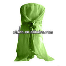 Terrific satin hood for chair cover for wedding, banquet and hotel