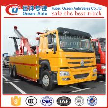 SINOTRUK camión de recuperación 6X4 HOWO 18T camión de servicio pesado