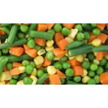 Steaming Frozen Mixed Vegetables
