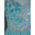 Beaded Decadence Illusion Evening Dress