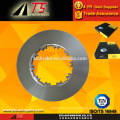 heavy duty truck brake disc rotor brake system,auto spare parts factory