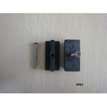 Напольная WPC доска с крепежными винтами