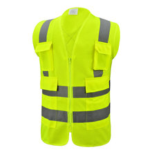 Top for Reflective Safety Vest High Grade Engineer Safety Reflective Vest supply to Lebanon Suppliers