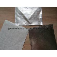 Tecido aluminizado retardador de calor / pano de fibra de vidro
