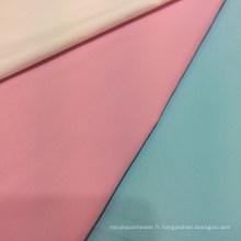 Tissu 100% polyester en tissu résistant à l'eau anti-statique