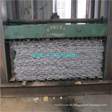Hauptfertigung von 80 X 100mm Gabion Box in River Bank verwendet