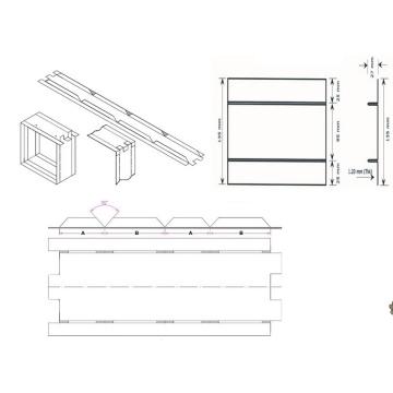 VCD Frame Roll Forming Machine in Qatar