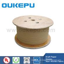 cable de transformador envuelta en papel Kraft aluminio alambre redondo