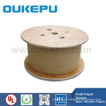 câble du transformateur en aluminium enveloppé de papier Kraft fil rond