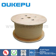 OUKEPU factory paper covered aluminium flat wire