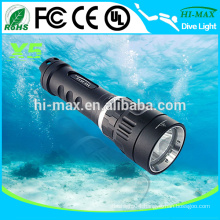 X5 1000lumen Magnetic underwater light rechargeable torch light price