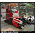 Crawler Combine Harvester for Muddy Field