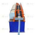 alibaba hot explosion supermarket track frame metal strut channel ceiling roll goods shelves forming machine
