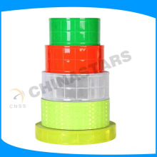 micro prismatic retro reflective tapes for mesh fabric safety vest