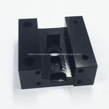 Peça de liga de alumínio de usinagem CNC