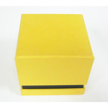 Yellow Color Rigid 2 Pieces Candle Box