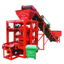 China hot sale small scale cement concrete fly ash paver interlocking brick block making machine price