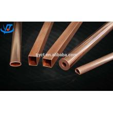 pure red copper pipe,99.9%-99.99% copper tubes manufacture price