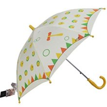 Straight auto open kid umbrella