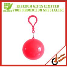 Раздавать Логотип Напечатан Гольф Безопасный Одноразовые Дождь Пончо Мяч