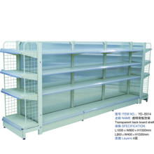 Supermarket Metal Rack Gondola Display Shelving System