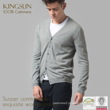 KS-FM062 100% Cashmere Coats Mens, Casaco de lã de cashmere para homens