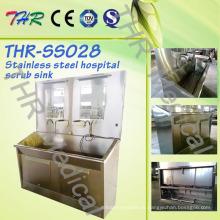 Edelstahl Krankenhaus-Use Scrub Sink (THR-SS028)