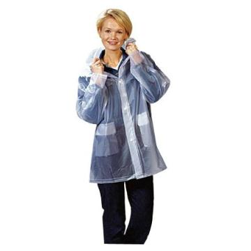 Eco-friendly 100%eva raincoat