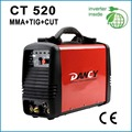 3 in 1 welding machine,mma tig cut CT520