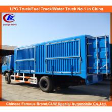Heavy Duty Dongfeng 6 Roda Cargo Van Caminhão
