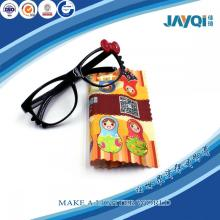 100% Polyester Microfiber Cleaning Cloth for Glasses