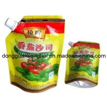 Ketchup Spout Bag/Stand up Tomato Sauce Bag/Chilli Sauce Bag