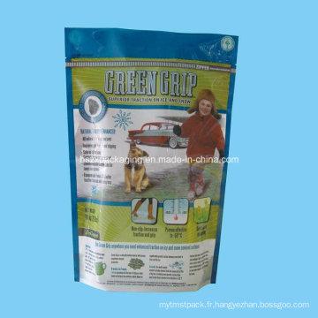Sac d'emballage alimentaire pour chats avec SGS