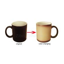 Taza de color cambiante de porcelana (CM-002)