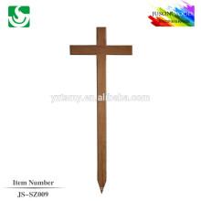 Cruz de madera sólida costumbre buena calidad