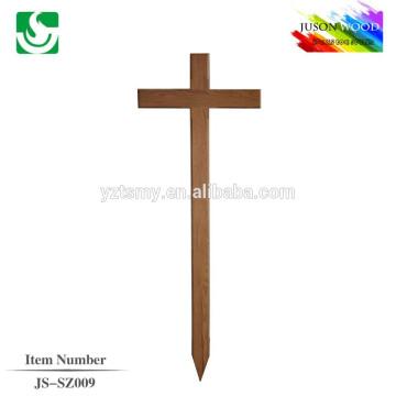 Cruz de madeira sólida personalizado boa qualidade