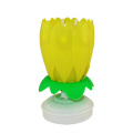 Chrysanthemum Flower Shaped Party Favored Candle