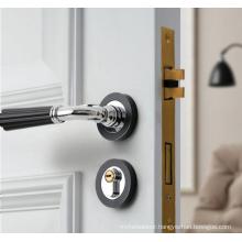 Fancy Door Handles American silent split lock Modern and simple design door lock