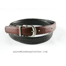Handmade Braided Belt Genuine Leather Belt