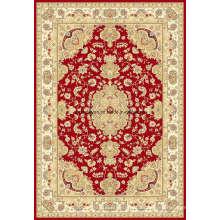 Alfombra de alfombra oriental viscosa de Wilton